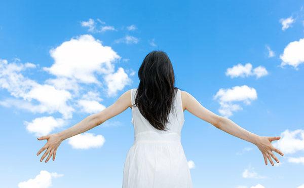 深呼吸の効果で美のエネルギーの活性化