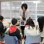 「しながわドリームジョブ」授業で片桐愛未が講師しました、平成30年2月19日(月)、清水台小学校(旗の台1-11-17)で開催され、5、6年生31人が出席しました